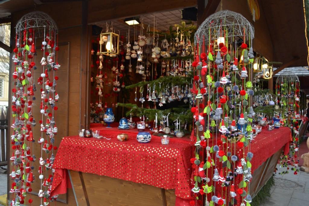 Tipica bancarella di Natale del Sud Tirol